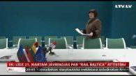 """EK: Līdz 21. martam jāvienojas par """"Rail Baltica"""" attīstību"""