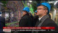 Valdība dod starta šāvienu dalībai CERN